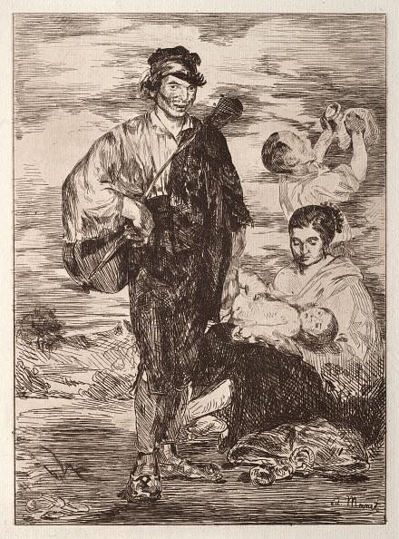Etching「Les Gitanos. Creator: Edouard Manet (French」:写真・画像(17)[壁紙.com]