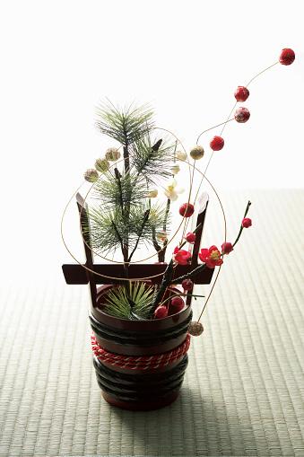 お正月「Kadomatsu」:スマホ壁紙(4)