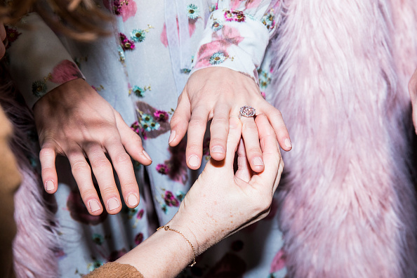 Jewelry「Tiffany&Co And Luisa Beccaria - Backstage - Milan Fashion Week Fall/Winter 2017/18」:写真・画像(10)[壁紙.com]
