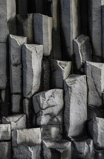 Basalt「Iceland, Reynisfjara, basalt columns」:スマホ壁紙(7)