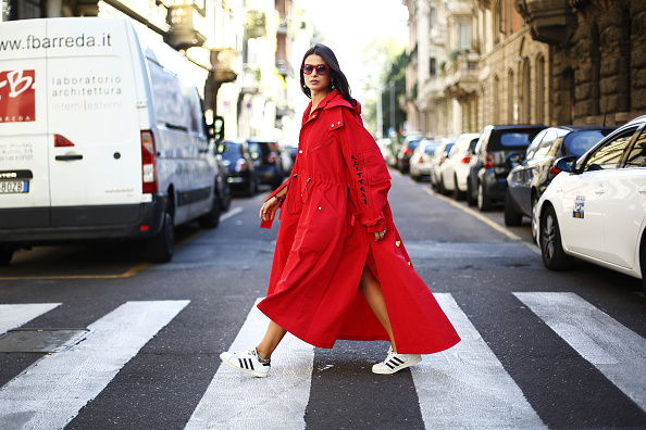Street Style「Street Style: September 21 - Milan Fashion Week Spring/Summer 2018」:写真・画像(7)[壁紙.com]