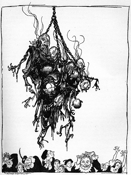 Horror「'Hop-Frog' by Edgar Allan Poe」:写真・画像(1)[壁紙.com]