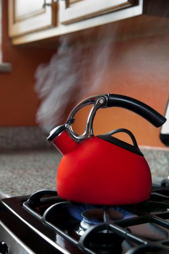 Tea Kettle「Shiny Red Tea Pot」:スマホ壁紙(19)