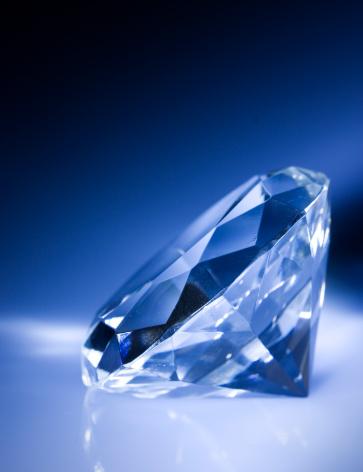 結晶「ダイヤモンド」:スマホ壁紙(5)