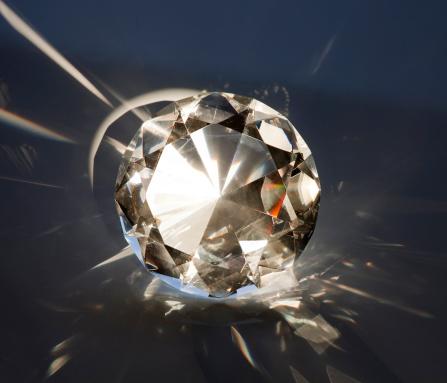 Gray Background「Diamond」:スマホ壁紙(12)
