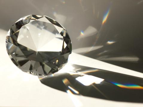 透明「ダイヤモンド」:スマホ壁紙(11)