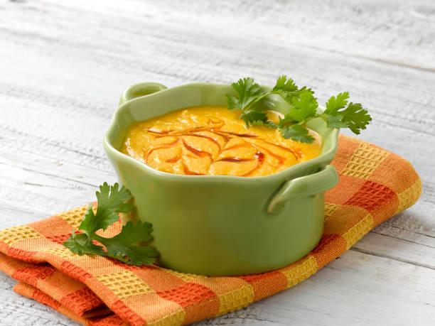 Carrot Coconut soup:スマホ壁紙(壁紙.com)