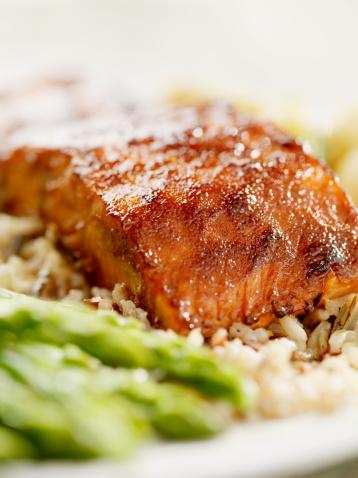Brown Rice「Salmon Filet with Wild Rice」:スマホ壁紙(4)