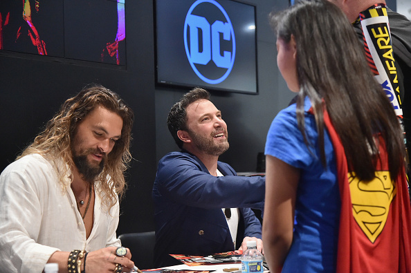 "Comic con「Comic-Con International 2017 - ""Justice League"" Autograph Signing」:写真・画像(5)[壁紙.com]"