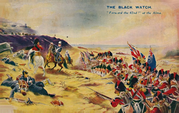 Patriotism「The Black Watch Forward The 42Nd! At The Alma」:写真・画像(16)[壁紙.com]