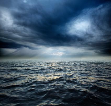 Wave「Stormy ocean water」:スマホ壁紙(18)