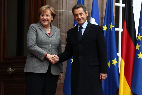 Politics「Sarkozy, Merkel And Monti Meet In Strasbourg」:写真・画像(3)[壁紙.com]