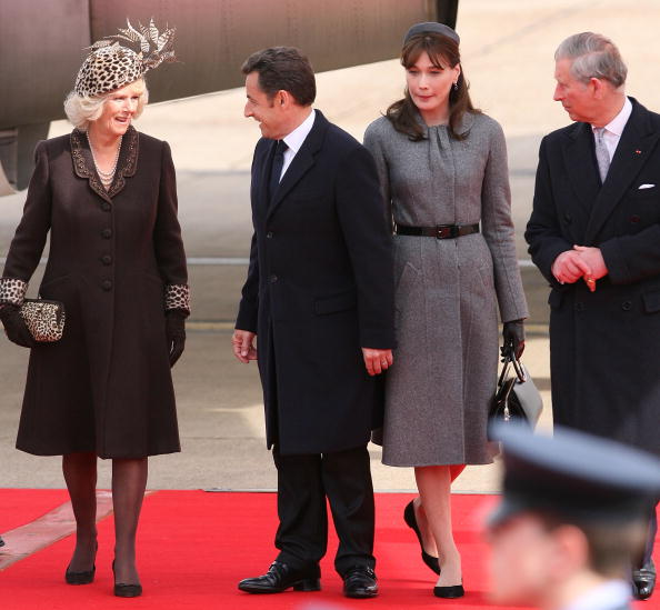 Thin「President And Madame Sarkozy Arrive At Heathrow To Begin State Visit」:写真・画像(17)[壁紙.com]