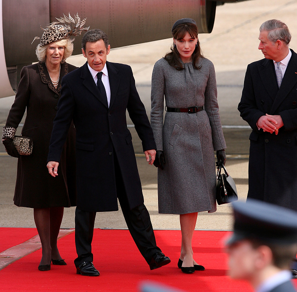 Thin「President And Madame Sarkozy Arrive At Heathrow To Begin State Visit」:写真・画像(18)[壁紙.com]