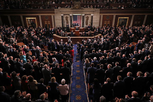 House Of Representatives「French President Emmanuel Macron Delivers An Address To Joint Meeting Of Congress」:写真・画像(19)[壁紙.com]