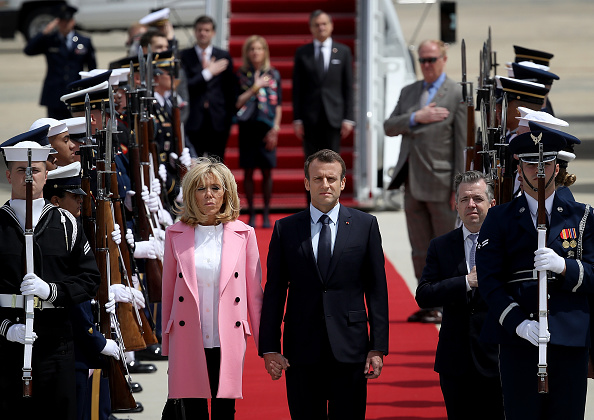 Maryland - US State「President Macron Of France Arrives In U.S. For State Visit With Trump」:写真・画像(10)[壁紙.com]