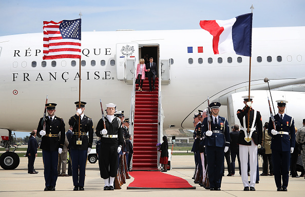 Maryland - US State「President Macron Of France Arrives In U.S. For State Visit With Trump」:写真・画像(9)[壁紙.com]