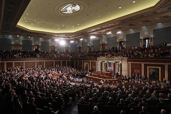 House Of Representatives「French President Emmanuel Macron Delivers An Address To Joint Meeting Of Congress」:写真・画像(9)[壁紙.com]