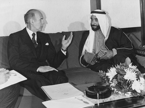 United Arab Emirates「Zayed Meets Giscard」:写真・画像(12)[壁紙.com]