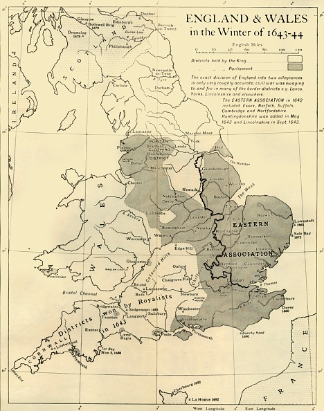 17th Century「England & Wales In The Winter Of 1643-44」:写真・画像(11)[壁紙.com]