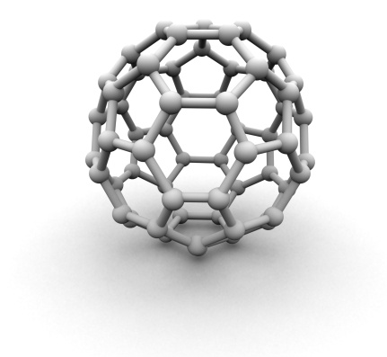 Hydrogen「Carbon 60 molecule structure」:スマホ壁紙(9)