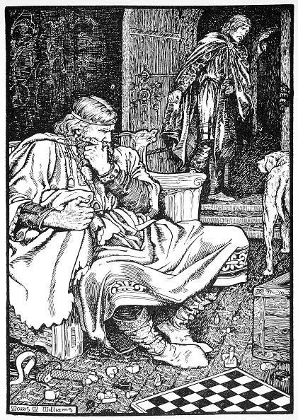 Earl King「King Canute And Earl Ulf Quarrel Over Chess Roskilde Denmanrk 1026 (1913)」:写真・画像(11)[壁紙.com]