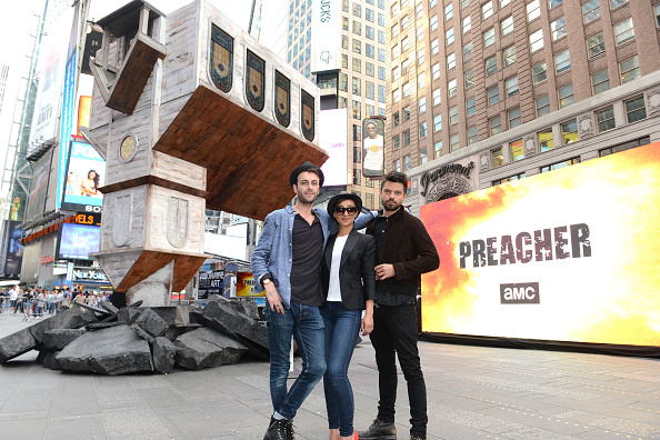 Preacher「AMC's PREACHER Upside Down Church Event In Time's Square」:写真・画像(16)[壁紙.com]
