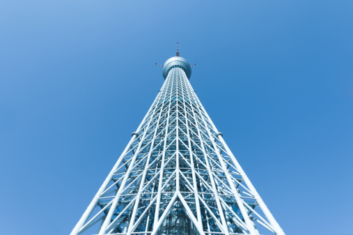 Tokyo Sky Tree「Tokyo Sky Tree from the bottom」:スマホ壁紙(10)