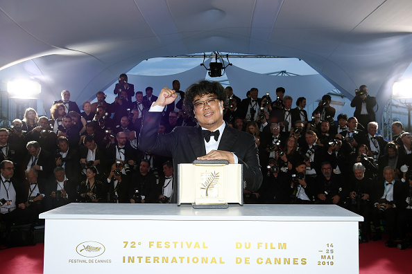 Parasite - 2019 Film「Palme D'Or Winner Photocall - The 72nd Annual Cannes Film Festival」:写真・画像(8)[壁紙.com]