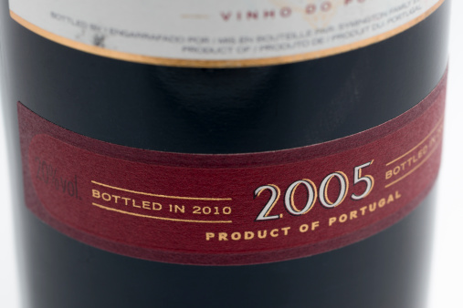 Wine Bottle「Label on a late bottled vintage port」:スマホ壁紙(10)