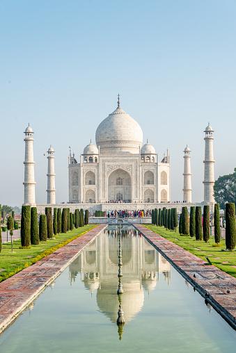 Mausoleum「Taj Mahal Monument Agra, India」:スマホ壁紙(18)