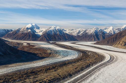 Kaskawulsh Glacier「St. Elias Mountains and Kaskawulsh Glacierin Kluane National Park, Yukon Territory, Canada」:スマホ壁紙(4)