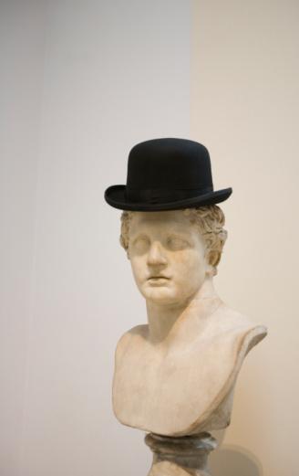 Roman「roman bust with bowler hat」:スマホ壁紙(8)