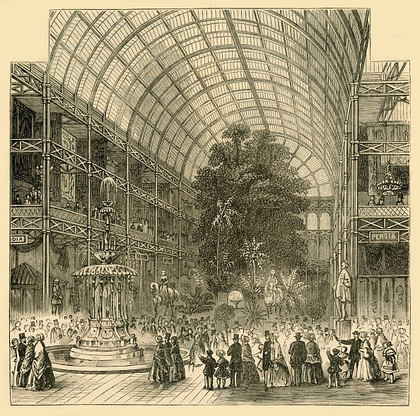 Ceiling「Nave Of The Great Exhibition Of 1851」:写真・画像(16)[壁紙.com]
