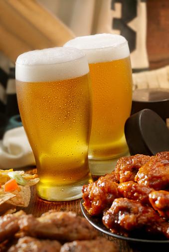 Animal Wing「Beer, Hockey and Wings」:スマホ壁紙(4)