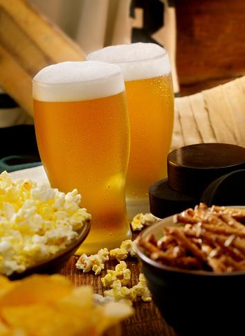 Hockey「Beer, Hockey and Snacks」:スマホ壁紙(2)