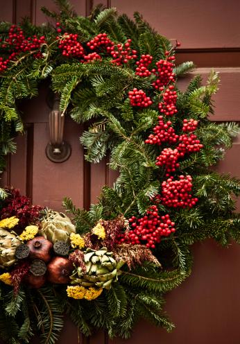 Front Door「Rustic Holiday Wreath」:スマホ壁紙(15)