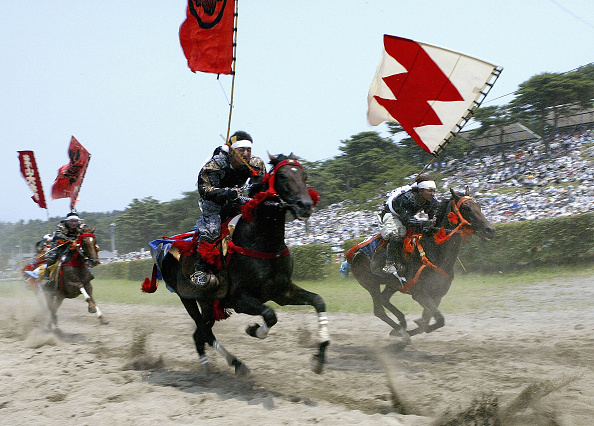 戦国武将「Japanese Enjoy The Samurai Soma-Nomaoi Festival」:写真・画像(15)[壁紙.com]