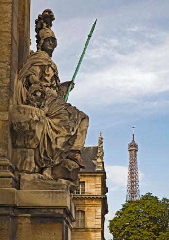 Gladiator「Statue on Les Invalides, Paris, France」:スマホ壁紙(16)
