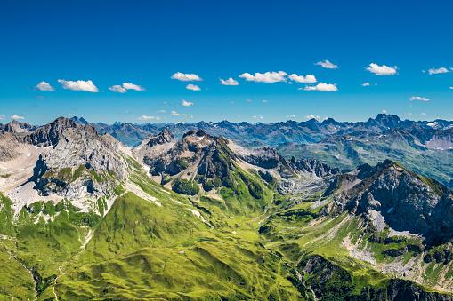 European Alps「View to the Alps in Austria」:スマホ壁紙(16)