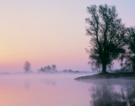 North Brabant「Holland, s-Hertogenbosch, River Maas at dawn (long exposure)」:スマホ壁紙(4)