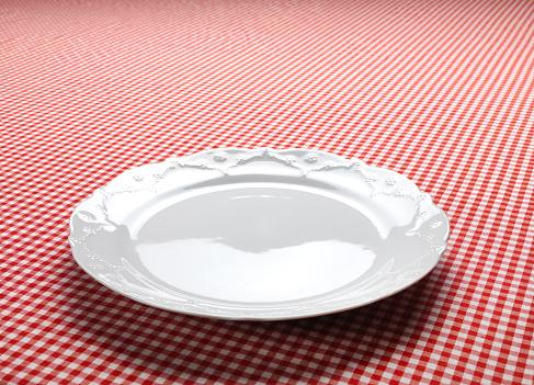 Plaid「Empty Dish On The Checkered Tablecloth」:スマホ壁紙(6)