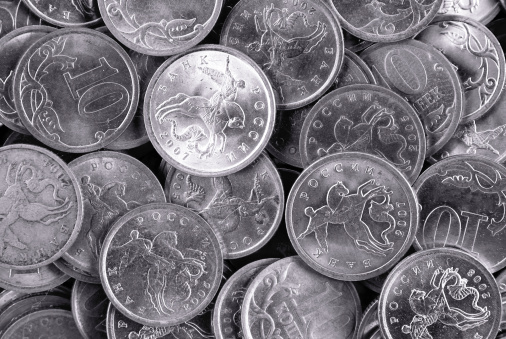 Economic fortune「silver coins」:スマホ壁紙(17)