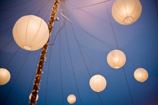 Paper Lantern「Array of Chinese Paper Lanterns」:スマホ壁紙(8)