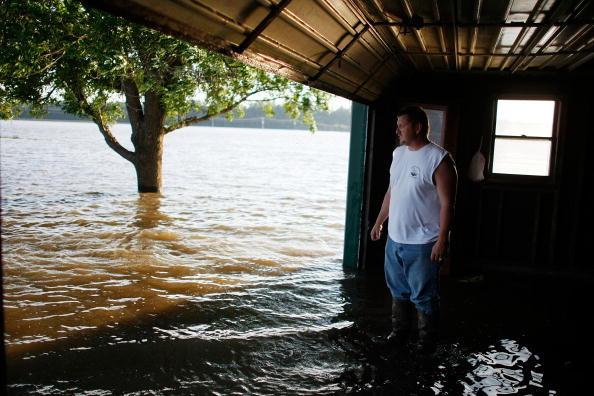 Corn「Mississippi River Towns Brace For Major Flooding」:写真・画像(7)[壁紙.com]