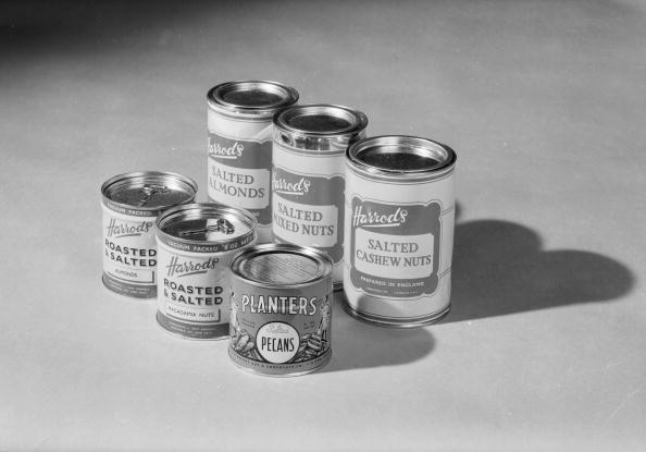 Nut - Food「Tinned Nuts」:写真・画像(5)[壁紙.com]