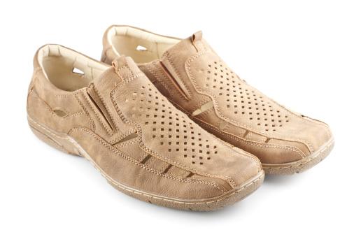 Loafer「Beige Suede Shoes」:スマホ壁紙(8)