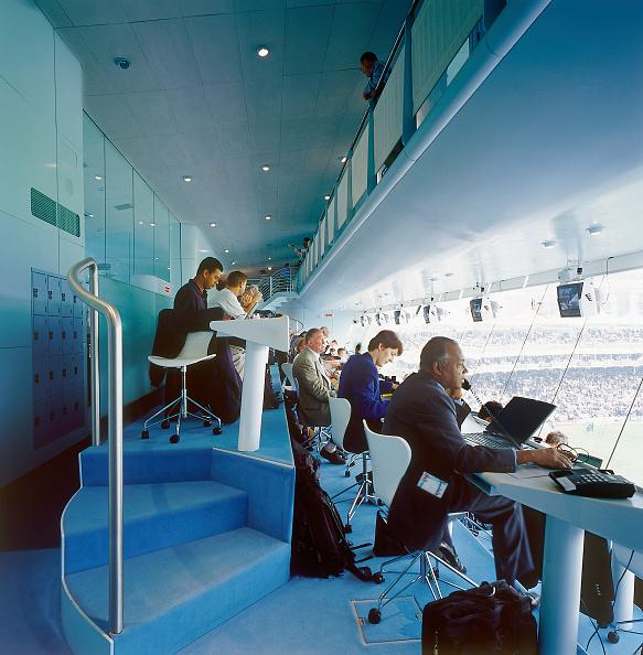 Wireless Technology「Media centre during match Lords Cricket Ground London, United Kingdom」:写真・画像(4)[壁紙.com]