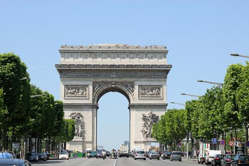 Arc de Triomphe - Paris「Arce de Triomphe, Paris, France」:スマホ壁紙(11)