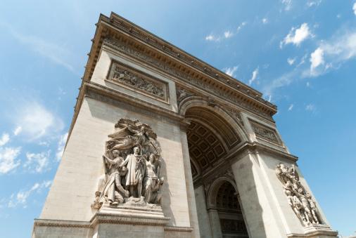 Arc de Triomphe - Paris「Arce de Triomphe, Paris」:スマホ壁紙(4)